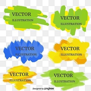 Elementos de vector Watercolor, Marcas De Tinta, Graffiti, Splash Puntos  PNG y Vector