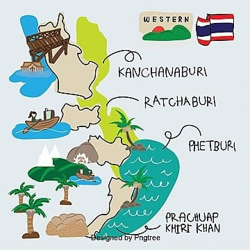 Thailand Map Png Images Vectors And Psd Files Free Download On