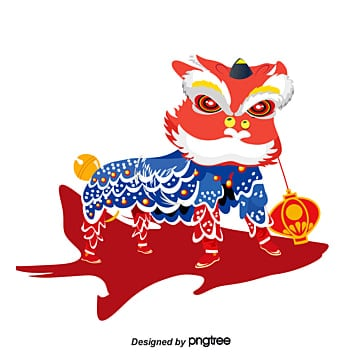 chinese new year, Chinese New Year, Percussion, Lion PNG and PSD