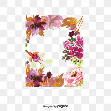 Pretty flowers png images vectors and psd files free download on watercolor flowers border vector watercolor pretty flowers beauty posters decorative png and vector mightylinksfo