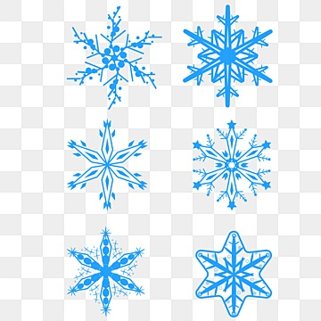 Transparent Snowflake Holiday Background Decorative Effect Element Clipart PNG Image