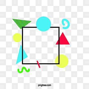 abstract geometric triangle  border, Abstract, Geometry,  PNG and Vector