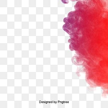 red smoke mission illustration image