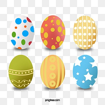 western holiday easter eggs, Easter, Eggs, Western Vector PNG and Vector