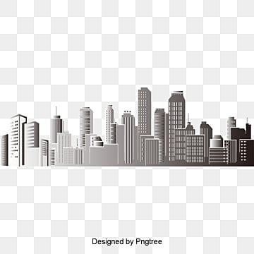 building silhouette, City Silhouette, Building Silhouette, Building Vector PNG and Vector