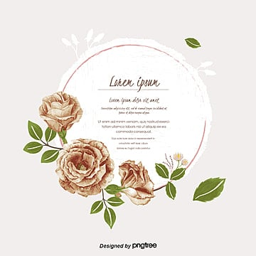 Floral Frame Png Images Vectors And Psd Files Free