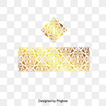 High Quality Vintage Gold Pattern, Retro Pattern, Gold Pattern, Chinese Pattern PNG And  Vector
