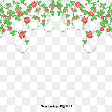 Flower Border, Flowers, Purple Flowers, Flower Border PNG and PSD