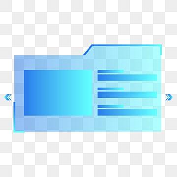 أزرق شفاف وكتله خلفية التكنولوجيا ثلاثية الأبعاد, أزرق, ثلاثي الأبعاد, صندوق PNG و PSD