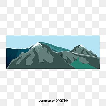 Катунский хребет озеро, горный клипарт, Пейзаж, озеро PNG и PSD