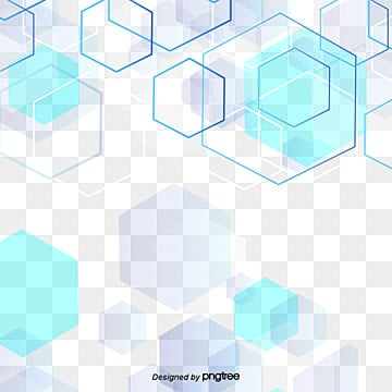 Multilayer technology background blue hexagons, Blue, Hexagonal Box, Light Color PNG and PSD