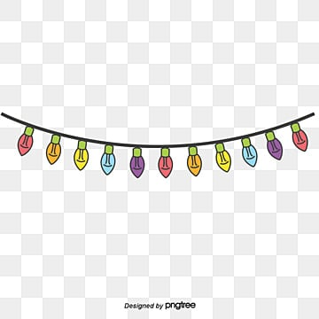 Lantern String Color PNG And Vector