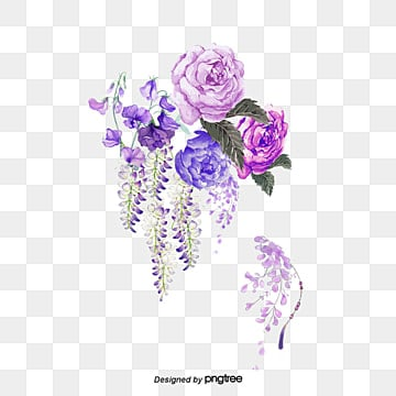 -color ink flower, -color Ink, Flower, Art PNG and PSD