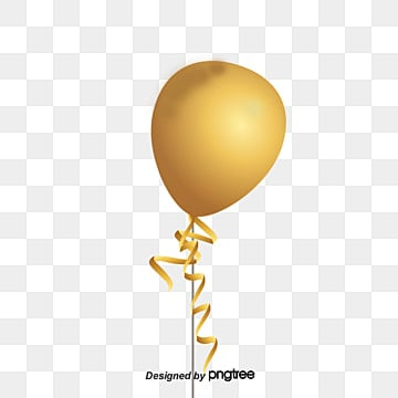 Gold Balloon Png Images Vector And Psd Files Free