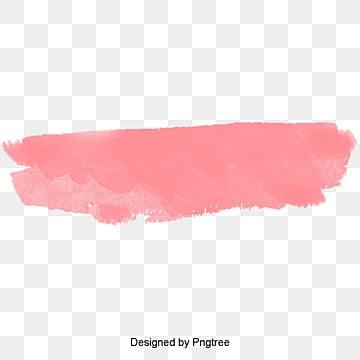 розовые акварельные кисти, Акварель вектор, Вектор, мультфильм PNG и PSD