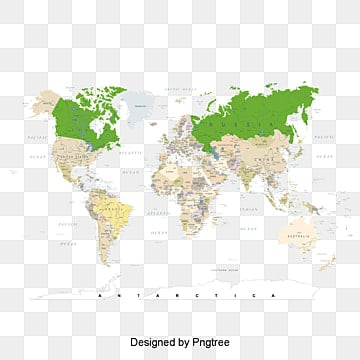 Seven Continents Map PNG Images | Vectors and PSD Files | Free ...