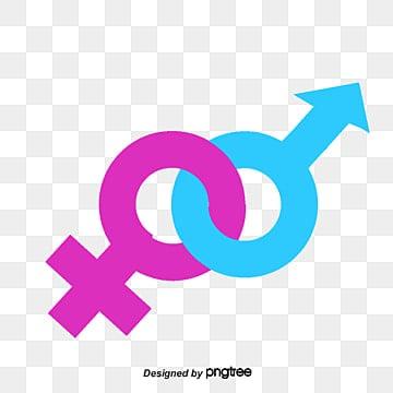 男女标志矢量_Male And Female Symbols Png, Vector, PSD, and Clipart With Transparent Background for ...