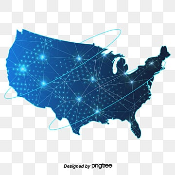 united states map map navigation gray vector map png and vector