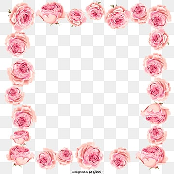 Pink Flower Border Png Images Vector And Psd Files Free Download On Pngtree