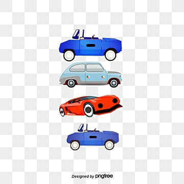 Vector cartoon car, Red Car, Gray Car, Tire PNG and Vector