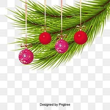 Colored Christmas balls