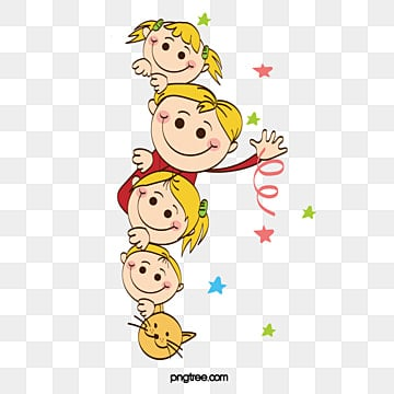 Cartoon kids, Cartoon, , Animal PNG Image
