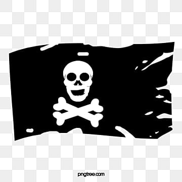 pirate flag png vectors psd and clipart for free download pngtree rh pngtree com Pirates Logo Pirate Skull and Crossbones