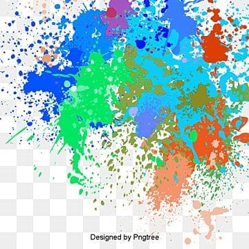 vector splash pattern, Watercolor, Splash, Colorful PNG and PSD
