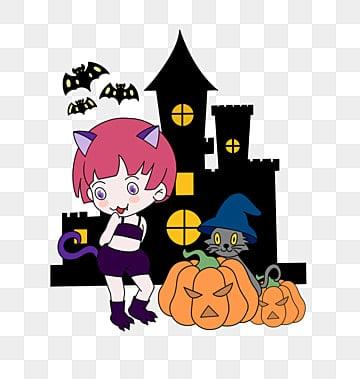 Halloween, Skull, Halloween, Terror PNG Image