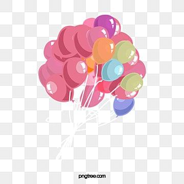 O balão, O Balão, Balão De Ar Quente, Balões De Coração PNG Image and Clipart