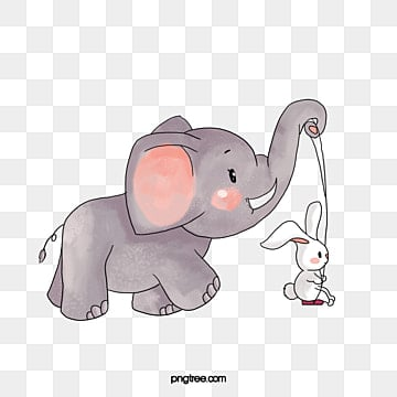 watercolor elephant png images vectors and psd files