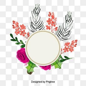 Vector floral frame, HD, Gráfico De Vetor, Flores De PrimaveraPNG e Vector