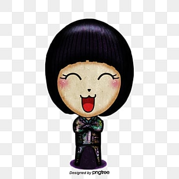 crying face cartoon baby girl, Cartoon Doll, Crying Face, Baby Girl PNG and