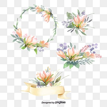 Hand-painted flowers, Flower, Watercolor, Small Fresh PNG and PSD