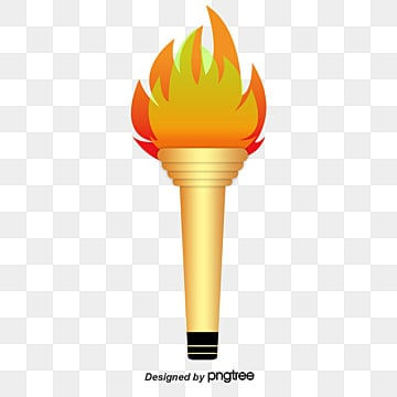 Olympic Torch Combustion PNG Image And Clipart