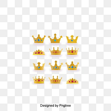 Noble and beautiful crown of gold material, Gold Material, Imperial Crown, King PNG and PSD