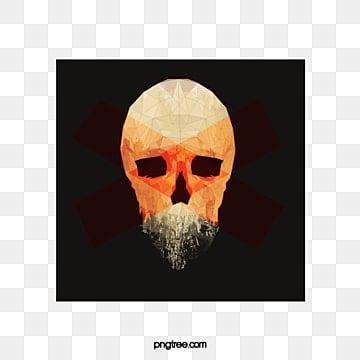 Crâne, En Matière De Vecteur, Crâne, HalloweenPNG et vecteur