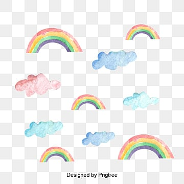 Rainbows Png Vectors Psd And Clipart For Free Download Pngtree