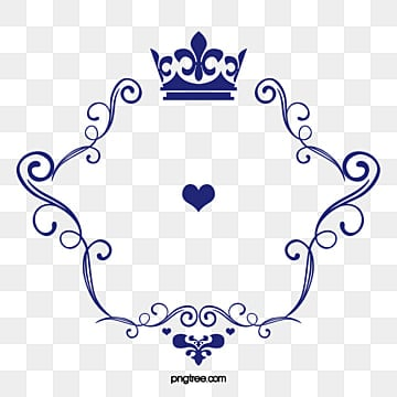 Crown pattern vector love logo, Wedding Logo, Logo, Vector Logo PNG and Vector
