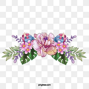 Hand-painted flowers vector, Watercolor, Painting, Flowers PNG and Vector