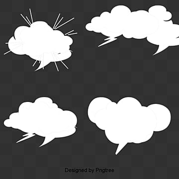 Dialog Comics Collection, Mushroom Cloud Layer Dialog Box, Vector, Text Box PNG and Vector