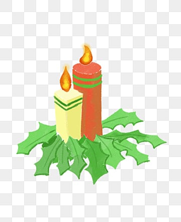 Yellow Candle Flames PNG Image And Clipart