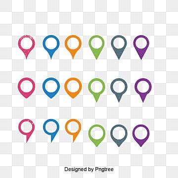 ناقلات الأسهم الملونة المرسومة ايقونة الموقع, ناقلات, رسمت باليد, السهم PNG و فيكتور