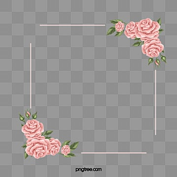 Rose border png images vectors and psd files free download on simple hand drawn rose border rose pink roses rose frame png image mightylinksfo