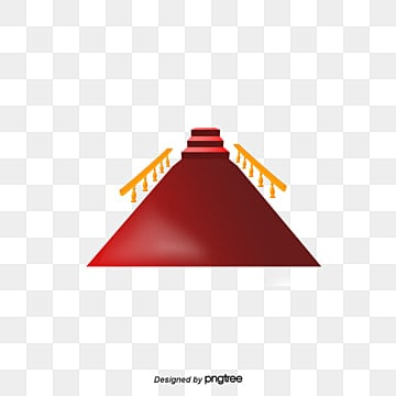 Vector Red Carpet Fence PNG And