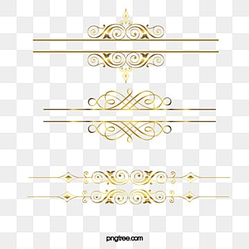 With Fancy Box Lacy Frame Golden Flower PNG Image And Clipart