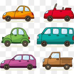 Q version car vector