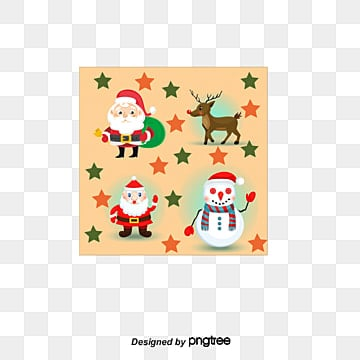 christmas cartoon characters png images vector and psd files free download on pngtree christmas cartoon characters png images