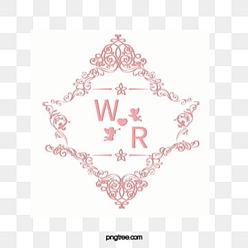Wedding Logo Psd Love White PNG And PSD