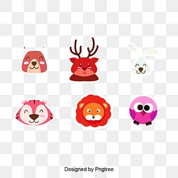 Q version animal vector Collection, Cute Animals, Q Version Of The Shark, Q Version Of The Bee PNG and Vector